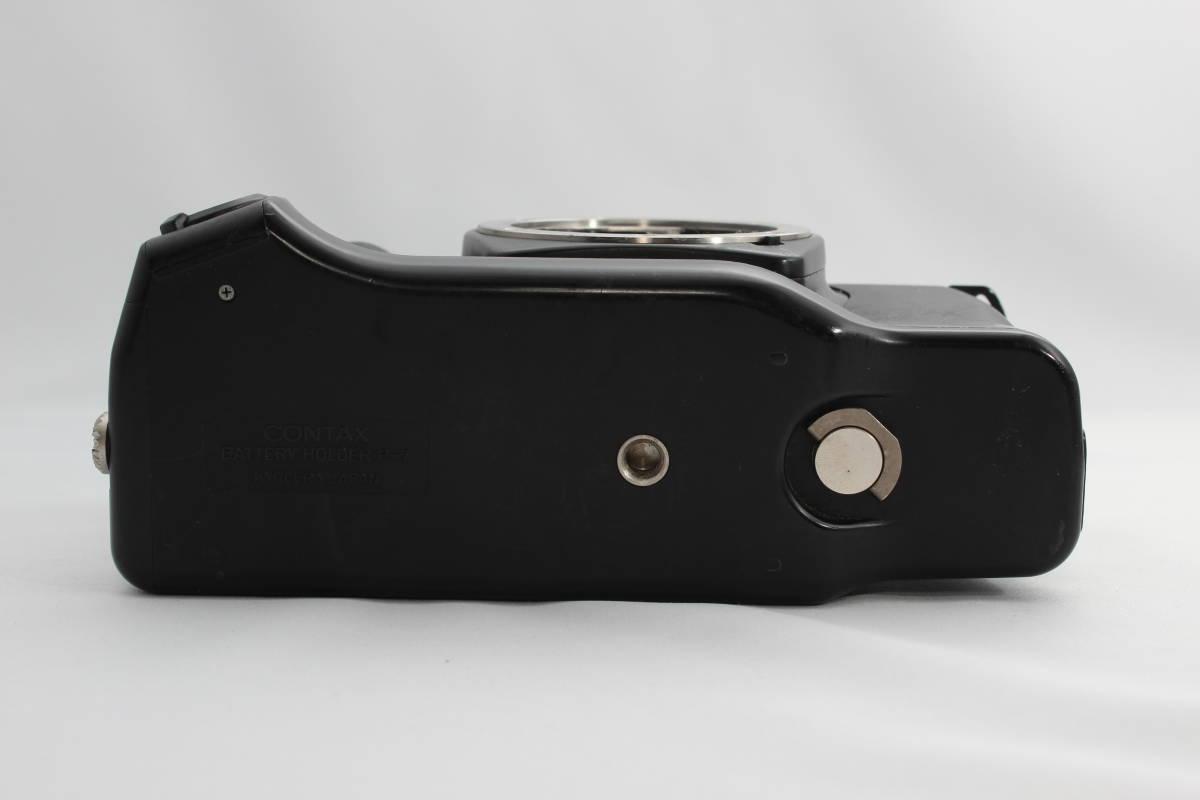 CONTAX/コンタックス ST body ボディ,バッテリーグリップ BATTERY HOLDER P-7付 #1939_画像7