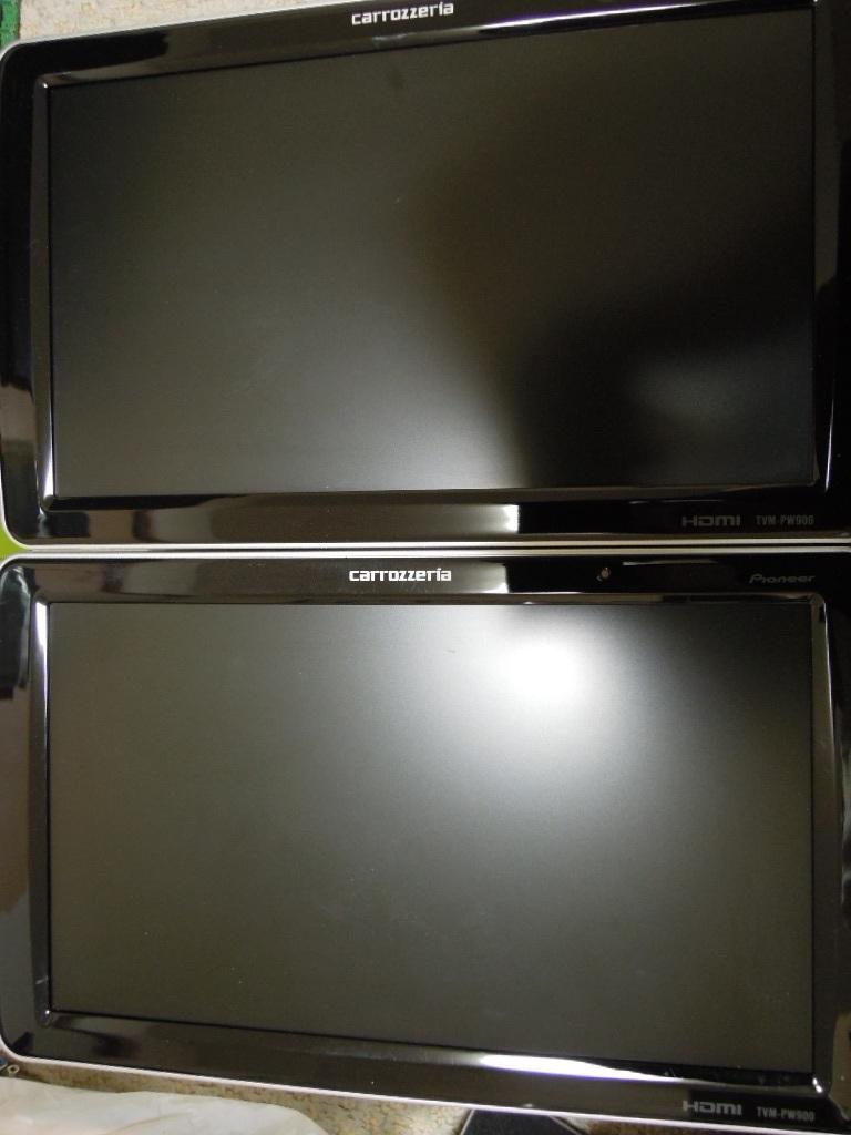 (パイオニア) 9型ワイドVGAプライベートモニター TVM-PW900T (2台セット) カロッツェリア