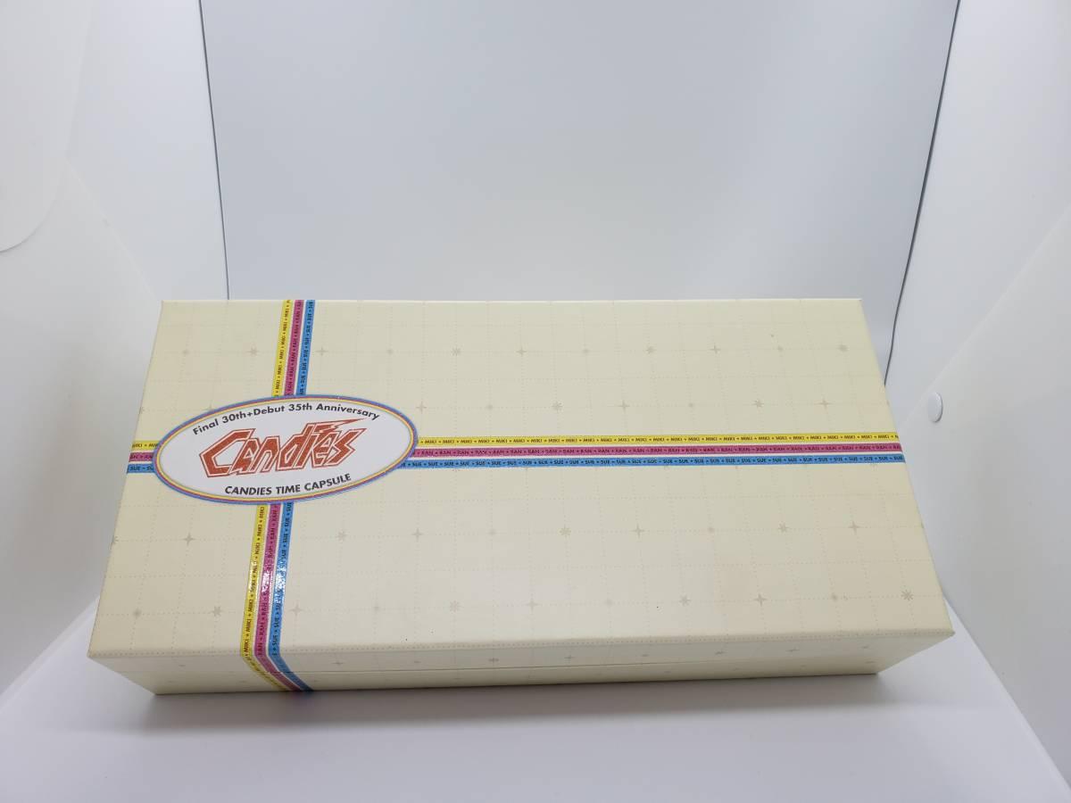 キャンディーズ CD20枚組BOX『キャンディーズ・タイムカプセル』全15タイトル/紙ジャケット/完全生産限定盤 ミキちゃん生写真付き