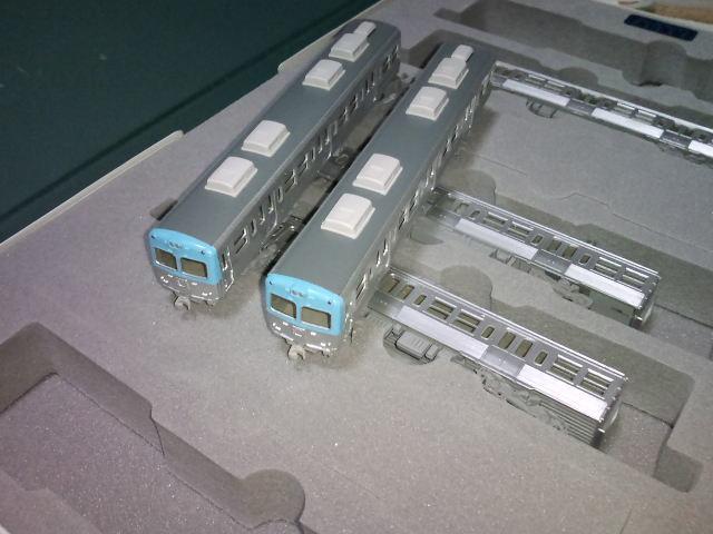 ジャンク 西武301、レオコンテナー他貨車4両、井の頭線、レール等_画像3