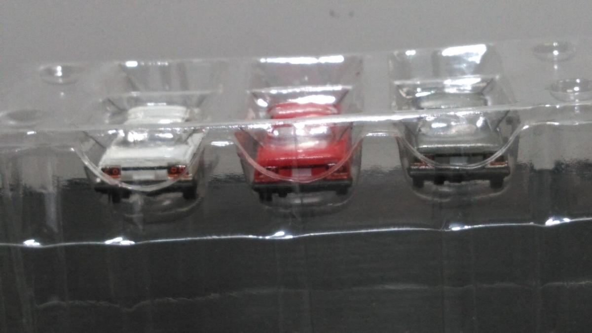 ザカーコレクション第2弾 日産 スカイライン 3台セットシルバー、レッド、ホワイト R30_画像2