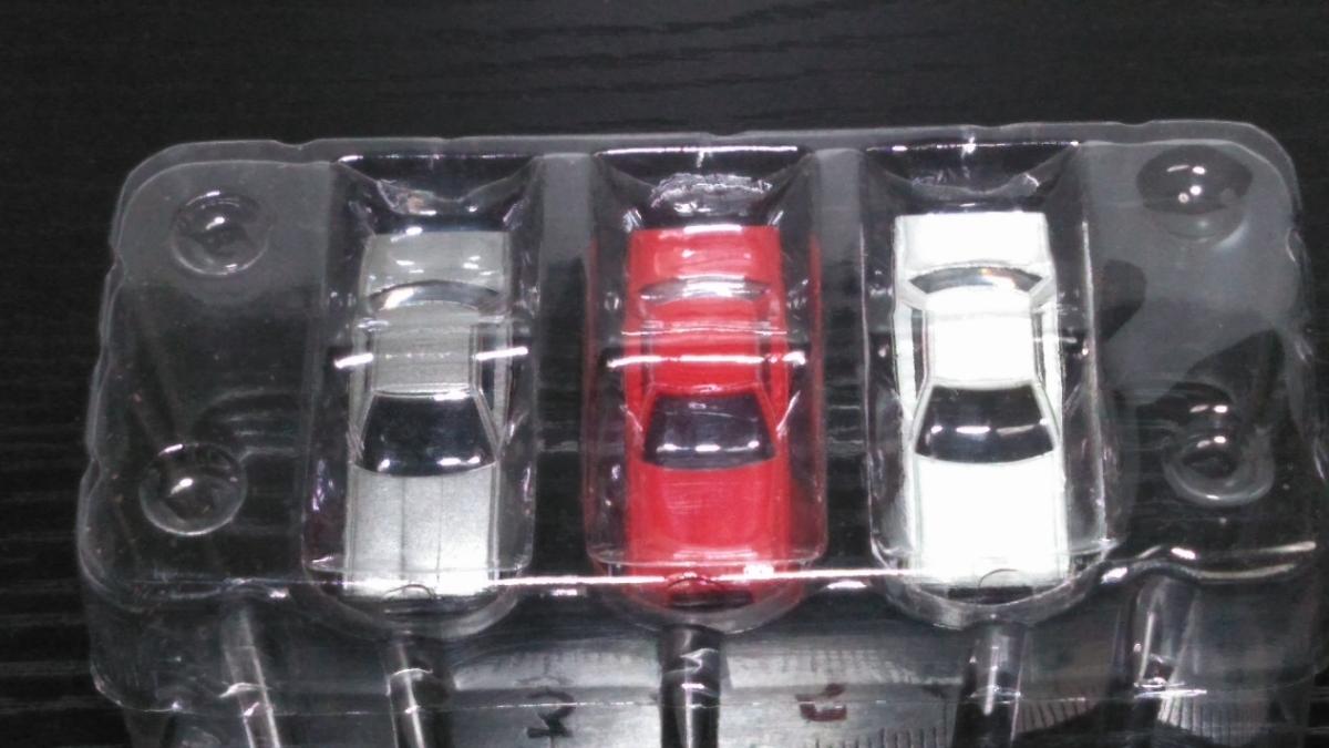 ザカーコレクション第2弾 日産 スカイライン 3台セットシルバー、レッド、ホワイト R30_画像3