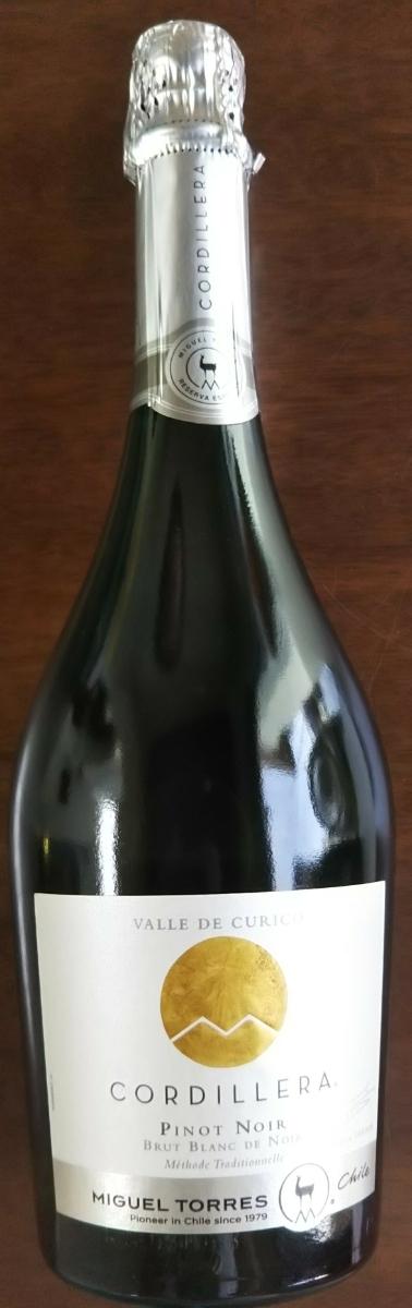ミゲル・トーレス・チリ コルディエラ・ブリュット・ピノ・ノワール♪スパークリングワイン♪果実酒♪同梱可能_画像1