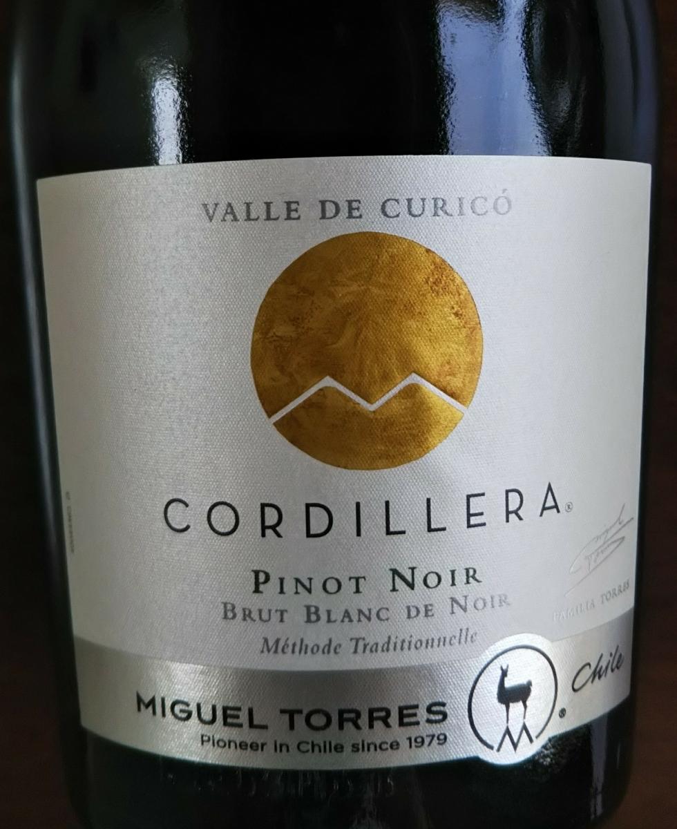 ミゲル・トーレス・チリ コルディエラ・ブリュット・ピノ・ノワール♪スパークリングワイン♪果実酒♪同梱可能_画像2