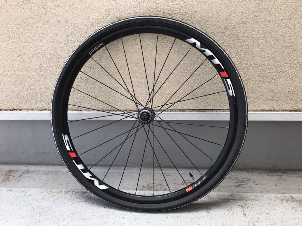 シマノ MTB ホイール WH-MT15 26インチ タイヤ付き 26x1.50 前後セット_画像2