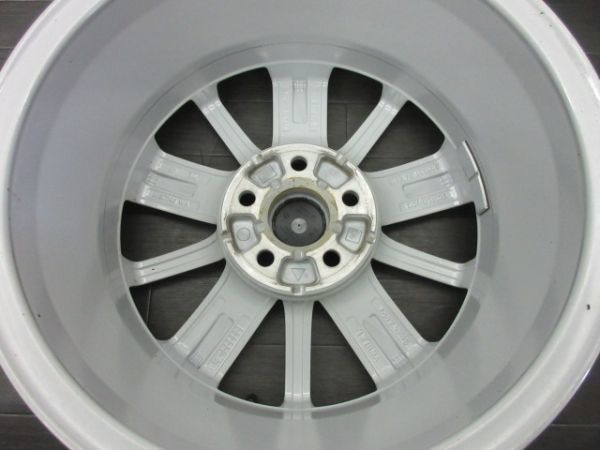 中古ホイール フォルクスワーゲン VW ポロ 6R 純正 15インチ 6J +40 PCD 100 5穴 1台分 ノーマル 純正ホイール_画像6