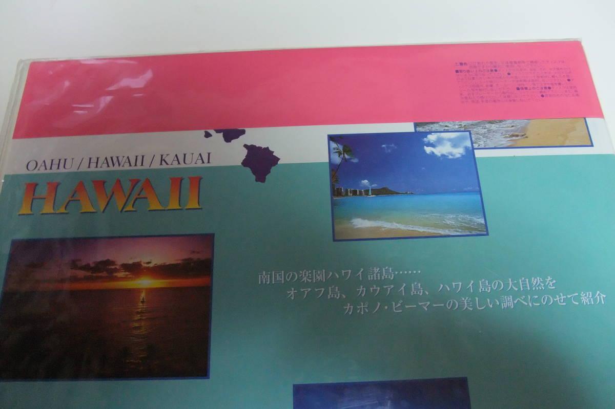 【激レア 未開封 送料無料】 Hi-Vision LD ハイビジョン レーザーディスク 『HAWAII ハワイ』 ハイビジョン LD _画像4