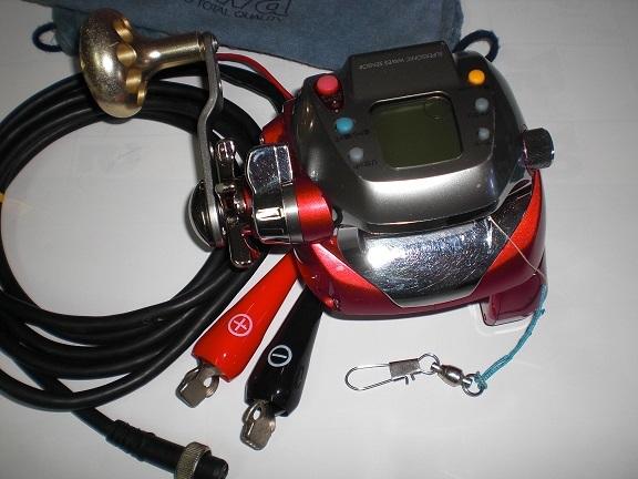 ダイワ シーボーグZ500FT作動中機 即使用可能 程度、手入れ良_画像3