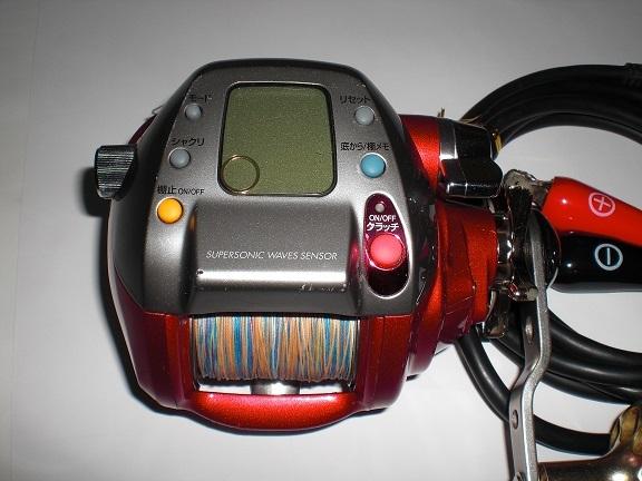 ダイワ シーボーグZ500FT作動中機 即使用可能 程度、手入れ良_画像4