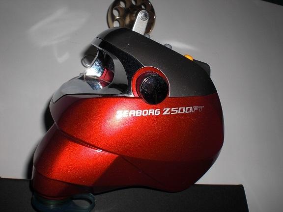ダイワ シーボーグZ500FT作動中機 即使用可能 程度、手入れ良_画像6