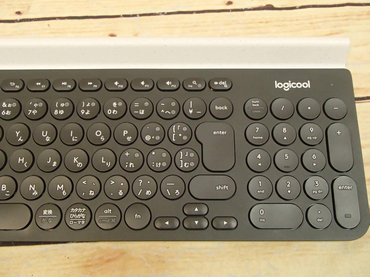 □Logicool ロジクール K780 マルチデバイス BLUETOOTH キーボード スマホ、タブレット、パソコンをこれ一台で□_画像4