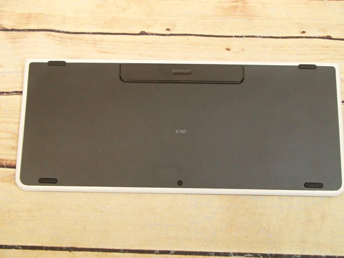 □Logicool ロジクール K780 マルチデバイス BLUETOOTH キーボード スマホ、タブレット、パソコンをこれ一台で□_画像6