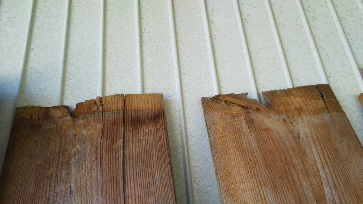 【築100年以上の古民家】古材の床板9枚セット⑮ 古板 木材 無垢材 天然素材 ビンテージウッド アンティーク カフェ 建材_画像9
