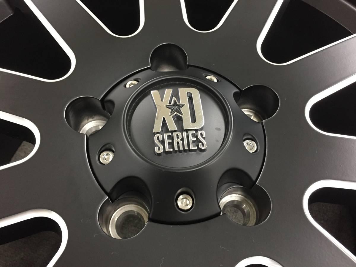 KMC XD818 Heist 17インチ 中古品(未走行)4本セット 送料込み Jeep Wrangler ジープ ラングラー等_画像4