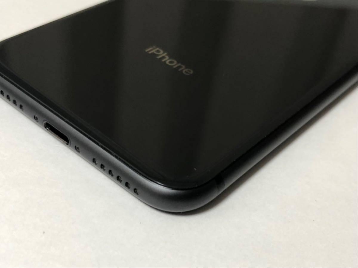 ■超美品 SIMフリーiPhone8 64GB ブラック 判定◯ 残債なし ジャンク■_画像3