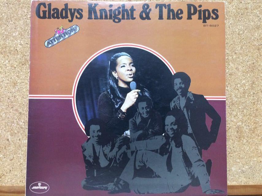 LP★グラディス・ナイト・アンド・ザ・ピップスGladys Knight & The Pips★アテンションAttention!☆ベスト盤_画像1