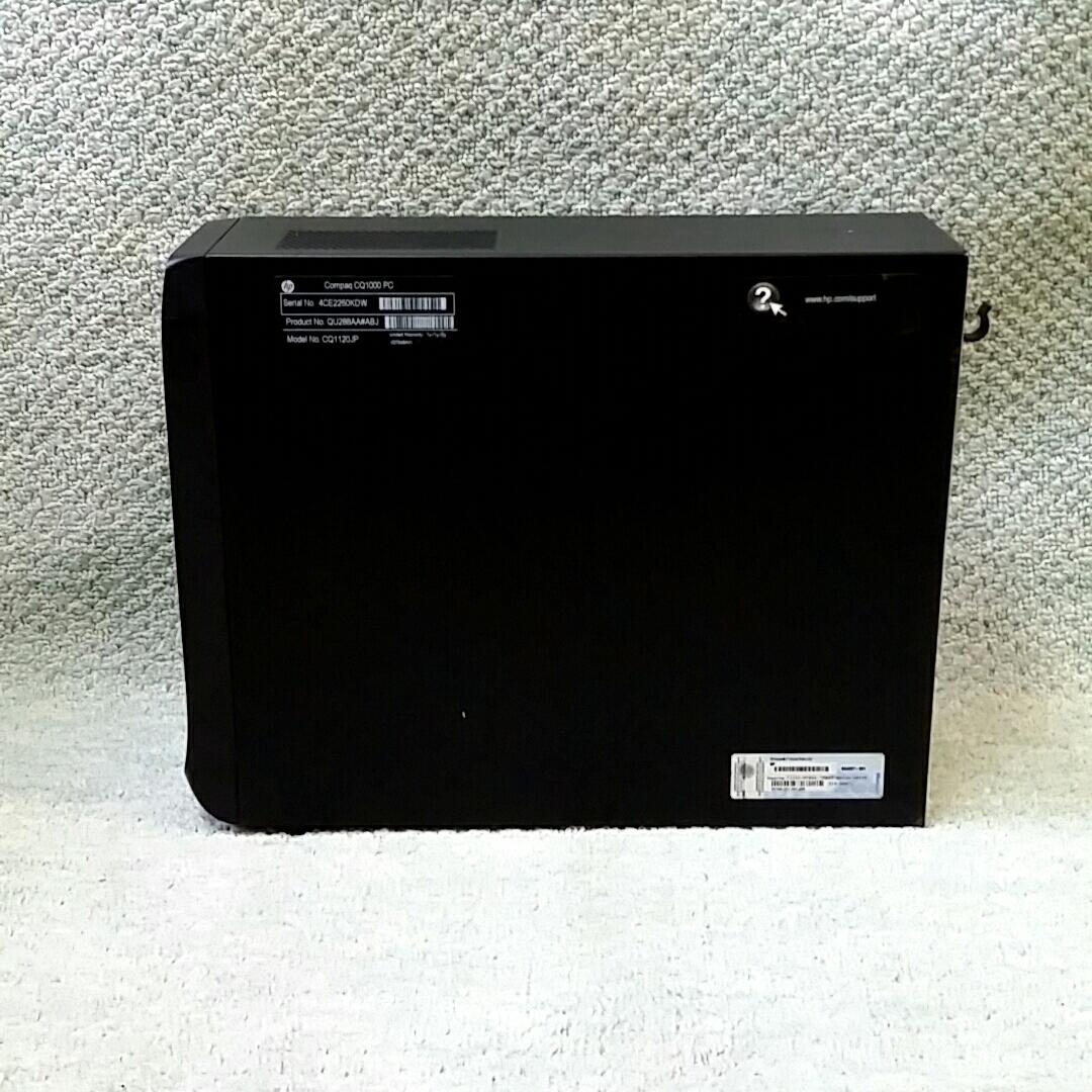HP Compaq CQ1120jp 省スペース型 ★ AMD E-450 APU 2コア/メモリ4GB/HDD500GB/マルチ/office/Windows 10/Win 7 Home (64bit) リカバリ_画像7