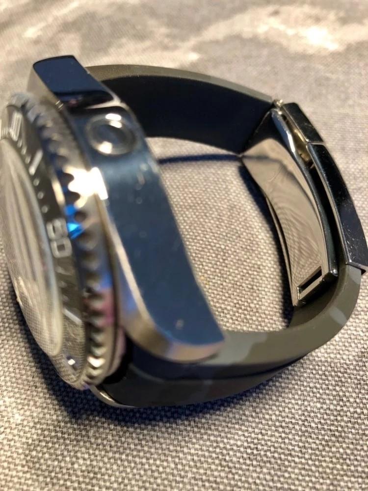 【驚愕】ROLEX ロレックス 対応 互換用 社外品 腕時計 ラバー バックル  防水 取付幅20mm 冠_画像8