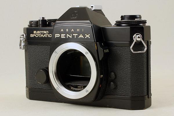 【完動良品♪】ASAHI PENTAX ELECTRO SPOTMATIC ES M42 PS 536 旭光学 アサヒ ペンタックス エレクトロスポットマチック ブラック BLACK