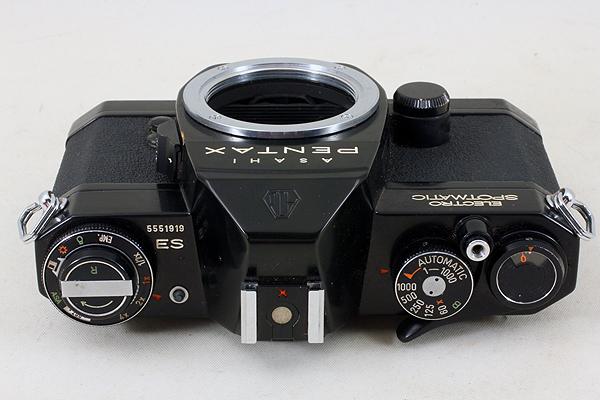 【完動良品♪】ASAHI PENTAX ELECTRO SPOTMATIC ES M42 PS 536 旭光学 アサヒ ペンタックス エレクトロスポットマチック ブラック BLACK_画像4