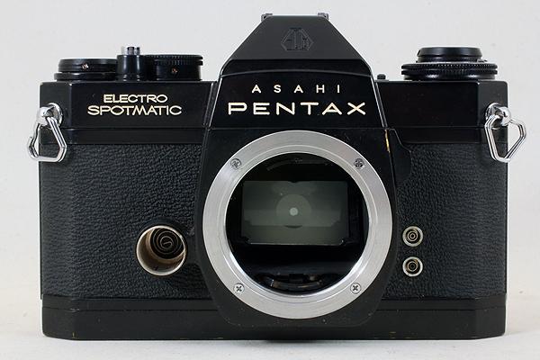 【完動良品♪】ASAHI PENTAX ELECTRO SPOTMATIC ES M42 PS 536 旭光学 アサヒ ペンタックス エレクトロスポットマチック ブラック BLACK_画像9
