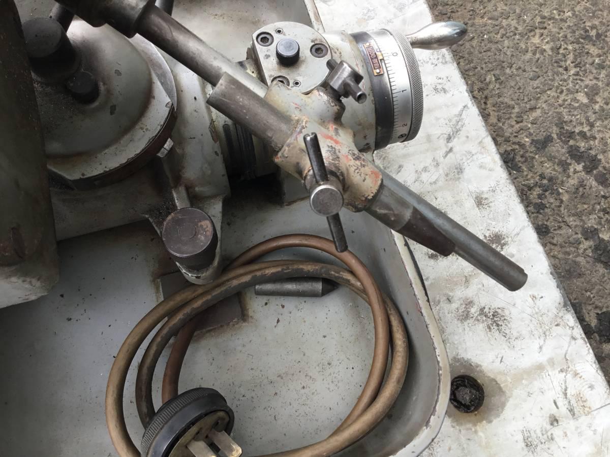 藤田製作所 3mm~13mm 小径用 ドリル研削盤 ドリル研磨機 05DWA_画像8