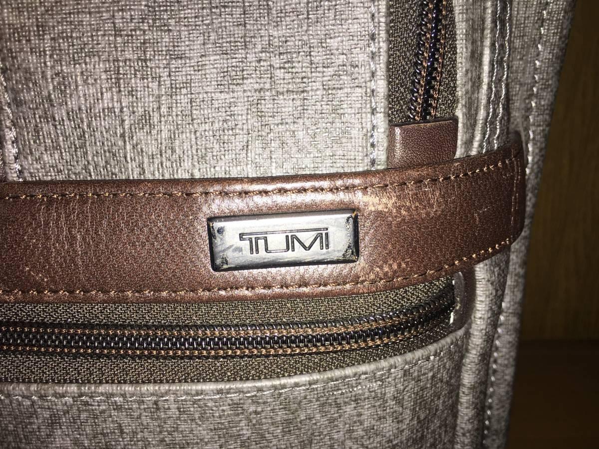 TUMI トゥミ ビジネスバッグ/ブリーフケース ALPHA2 26141 グレイ A4サイズ エクスパンダブル _画像3