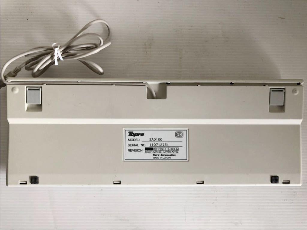 Topre REALFORCE 108UH SAO100 108UH USBキーボード_画像4