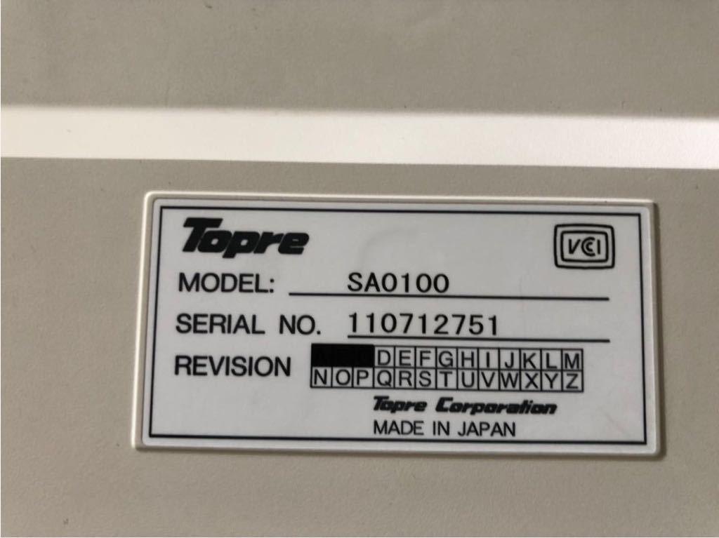 Topre REALFORCE 108UH SAO100 108UH USBキーボード_画像5