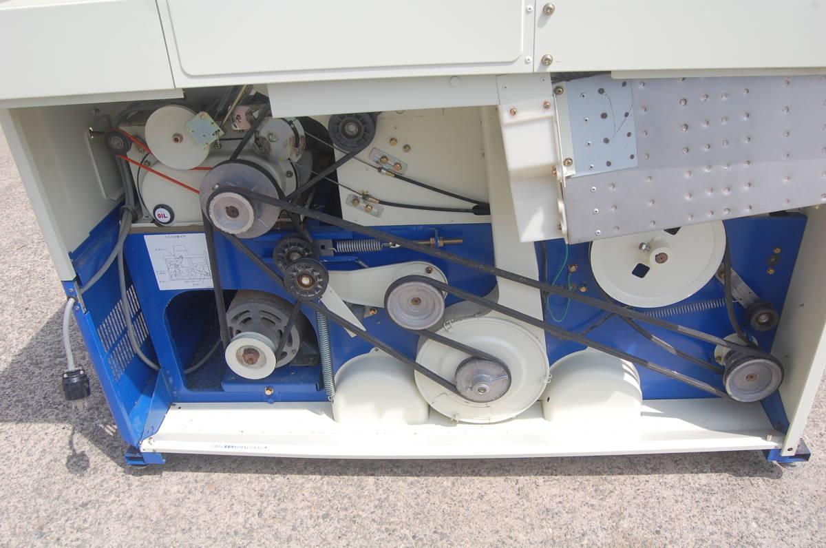 本州送料無料!サタケ NPS350DM-3 籾摺り機 3インチ ネオライスマスター200V 佐竹 もみすり機 籾摺機 外装サビ有り_本体内は問題ありませんが外装にサビ有り!