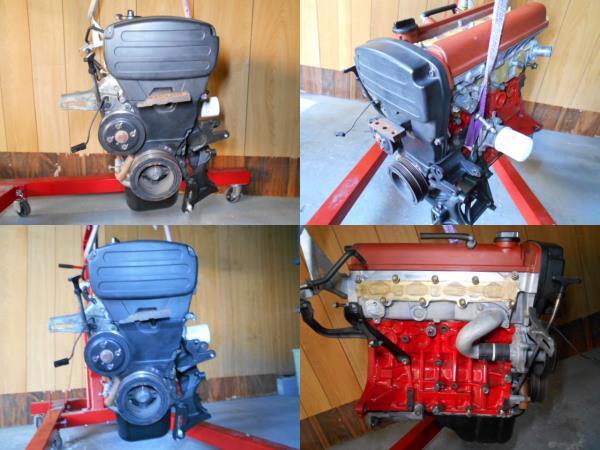 【A178】 トレノ AE111 後期 エンジン 4AG 5バルブ レビン トヨタ オーバーホール後30000キロ TODA TRD_画像9