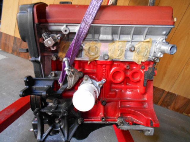 【A178】 トレノ AE111 後期 エンジン 4AG 5バルブ レビン トヨタ オーバーホール後30000キロ TODA TRD_画像2