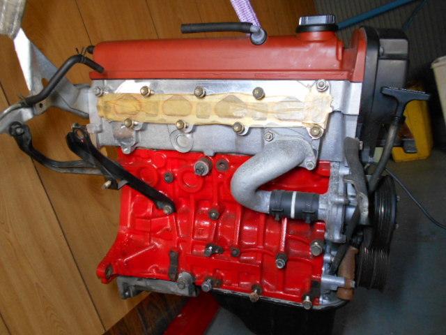 【A178】 トレノ AE111 後期 エンジン 4AG 5バルブ レビン トヨタ オーバーホール後30000キロ TODA TRD_画像3