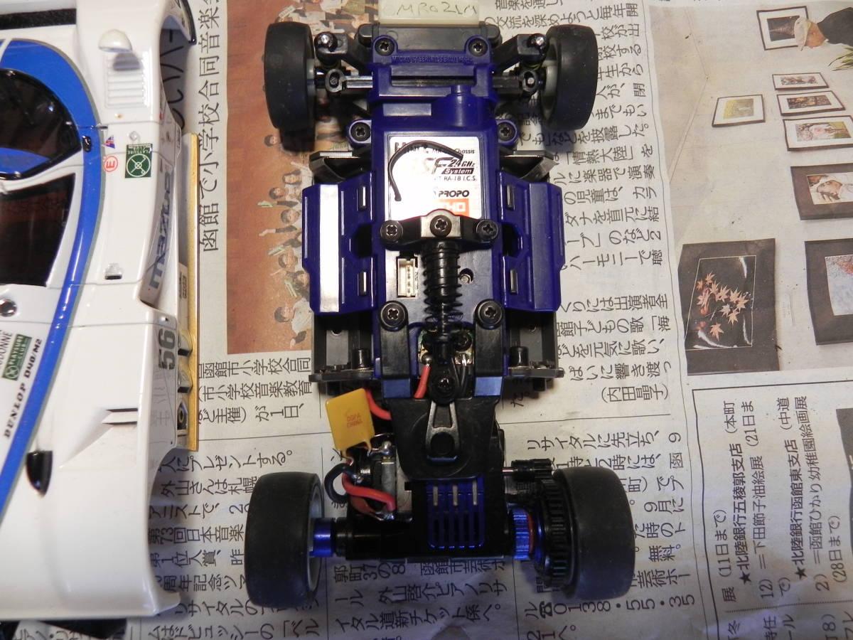 京商 ミニッツ マッダ レーシングカー MR-02 ASF2,4GHz KT18コンバージョンセット_画像5