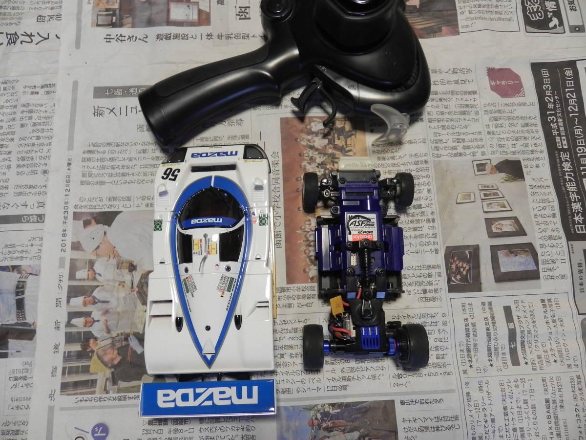 京商 ミニッツ マッダ レーシングカー MR-02 ASF2,4GHz KT18コンバージョンセット_画像6
