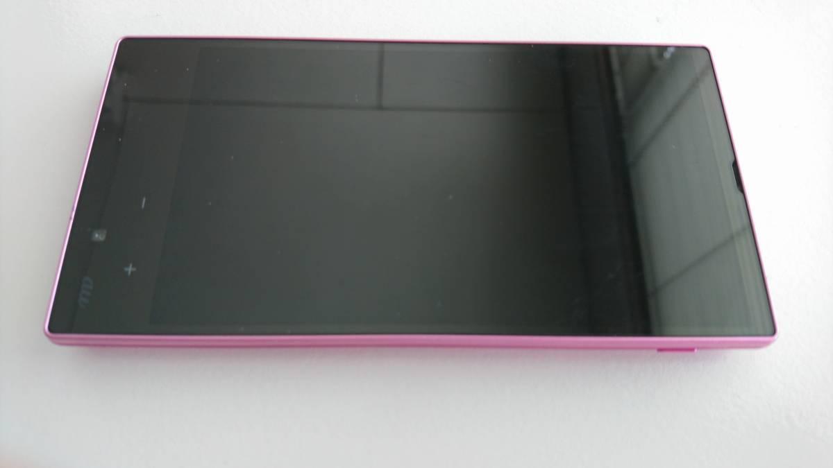 #au#AQUOS PHONE SERIE mini SHL24(ピンク)#SA665#6/14