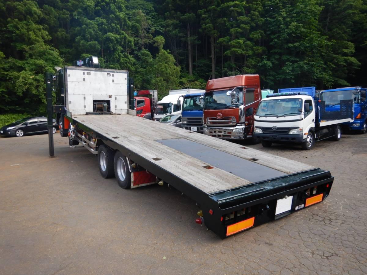 「【CH13523】H16年 日野 プロフィア タダノ 4段クレーン ハイジャッキ ロングジャッキ ウィンチ ラジコン&フックイン7速MT 積載量11600kg 」の画像3