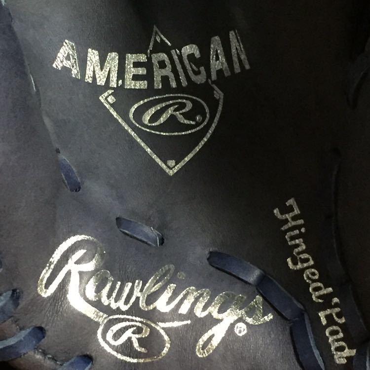 【レア・グリフィーJrモデル】ローリングス 軟式外野用グラブ ケングリフィーのオープンバックタイプ MLB USA_画像3