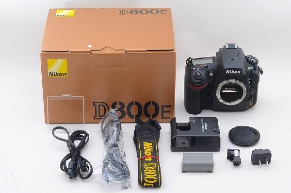[新品級] Nikon D800E 本体 ショット数 1650 元箱 #108710