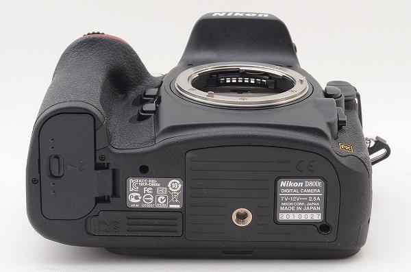 [新品級] Nikon D800E 本体 ショット数 1650 元箱 #108710_画像8