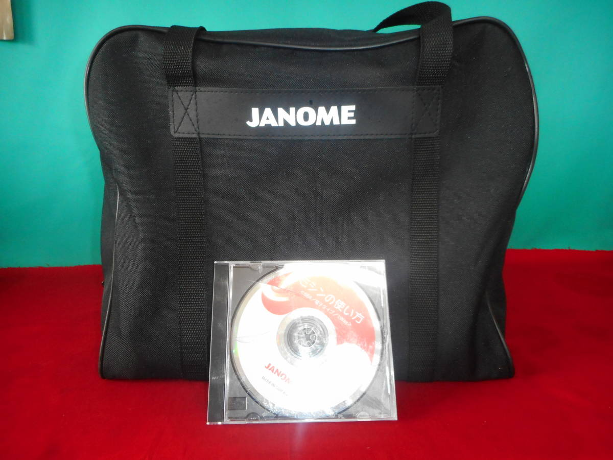 専門店より ジャノメ664 JE-500 新品同様 美品 コンパクトでパワフル ジーンズ5枚OK_画像9