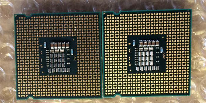 Core2 Duo E8500 2枚組み・送料無料 ③_画像2
