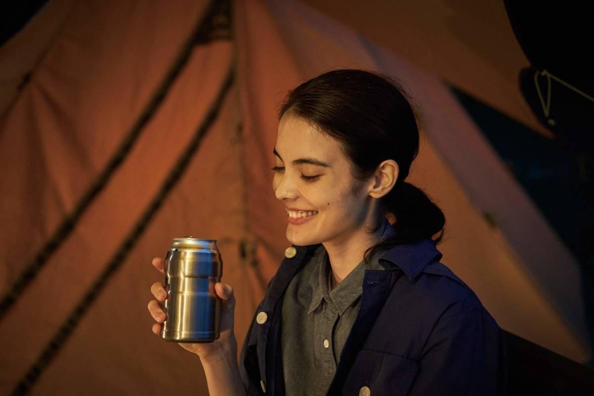 サーモス アウトドアシリーズ 保冷缶ホルダー ステンレス 350ml缶用 2wayタイプ ROD-002 S キャンプ アウトドア バーベキュー 普段使いに_画像5