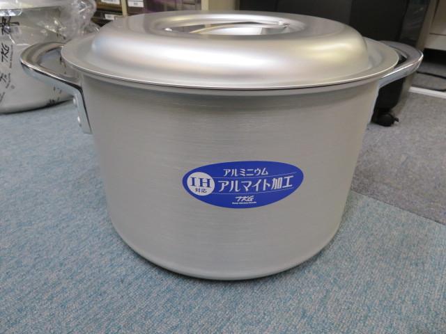 TKG (目盛付) IHアルミ / 半寸胴鍋 33cm