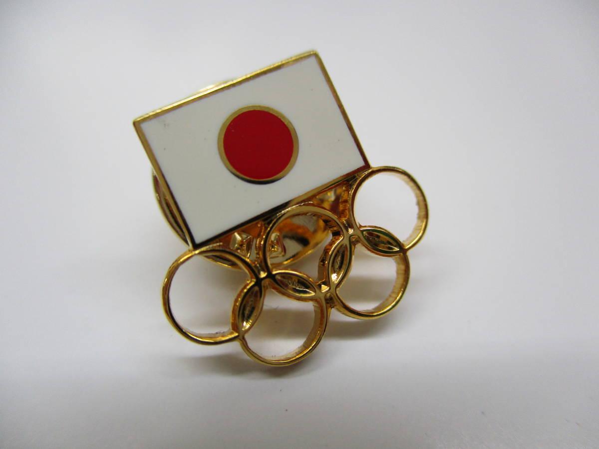 H2287棚21 JOC★日本オリンピック委員会 公式ピンバッジ ゴールド:6個セット!!_画像2
