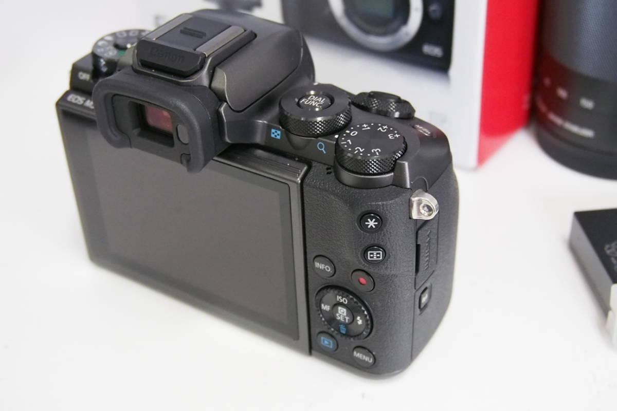 美品 キャノン Canon EOS M5 EF-M18-150 IS STM レンズキット 元箱一式 メーカー保証残有
