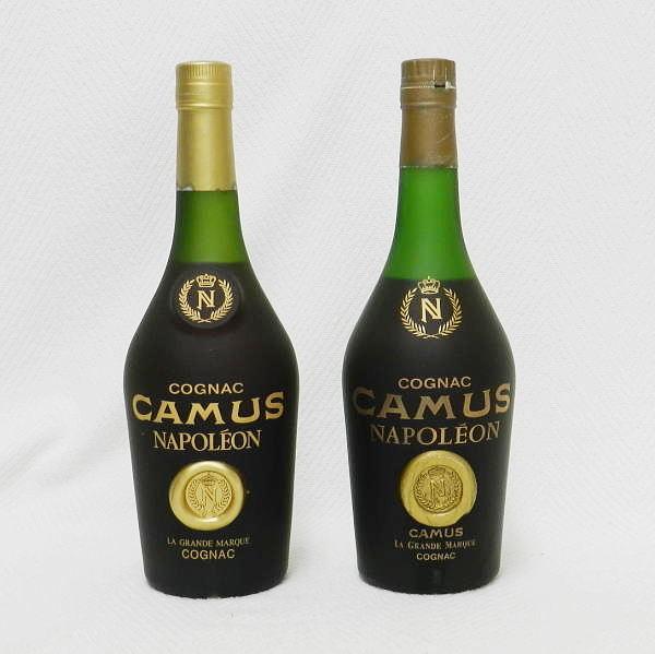 ■ 古酒 CAMUS NAPOLEON カミュ ナポレオン 690ml とたぶん700ml 40度 コニャック 未開栓!_画像2