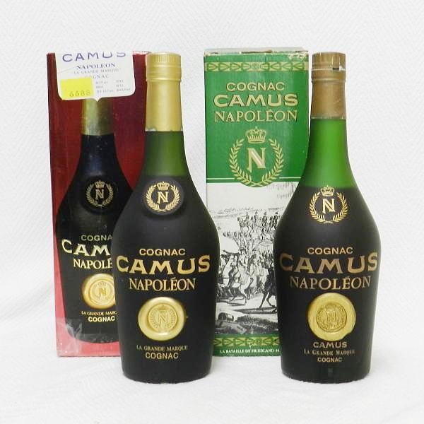 ■ 古酒 CAMUS NAPOLEON カミュ ナポレオン 690ml とたぶん700ml 40度 コニャック 未開栓!