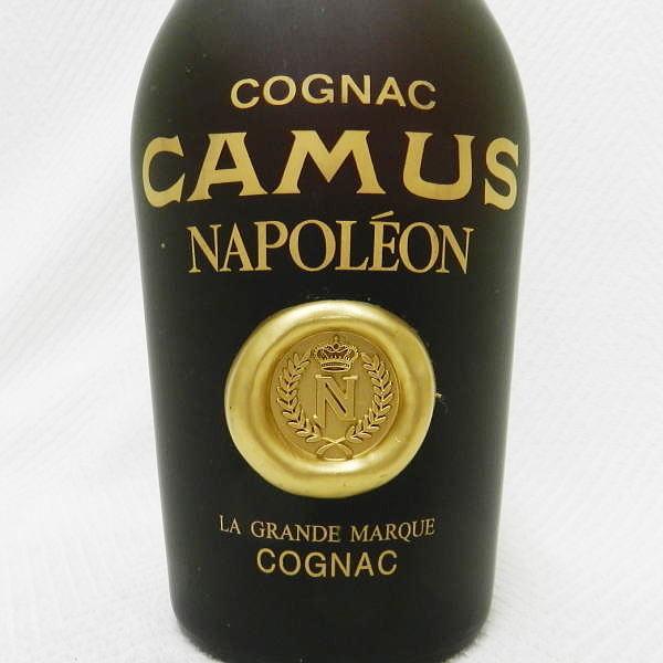 ■ 古酒 CAMUS NAPOLEON カミュ ナポレオン 690ml とたぶん700ml 40度 コニャック 未開栓!_画像4