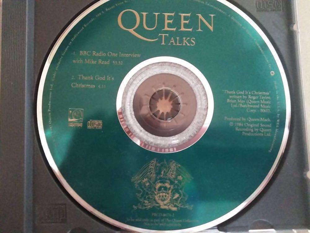 Queen talks CD 盤のみ 輸入盤
